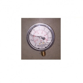 """MANOMETRE DE PRESSION DIAM 63 RACCORD 1/4"""" G AVEC GLYCERINE 03600600G"""
