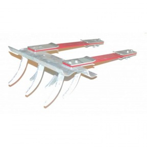 KIT 2 LAMES 480X50 EBA512 + PEIGNE 300mm EBA571 + 4 CONTRE LAMES 80202895